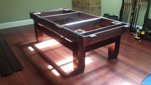 Correctly performing pool table installations, Cumberland Maryland